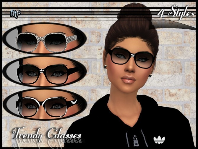 MP Trendy Glasses at BTB Sims – MartyP image 494 670x503 Sims 4 Updates