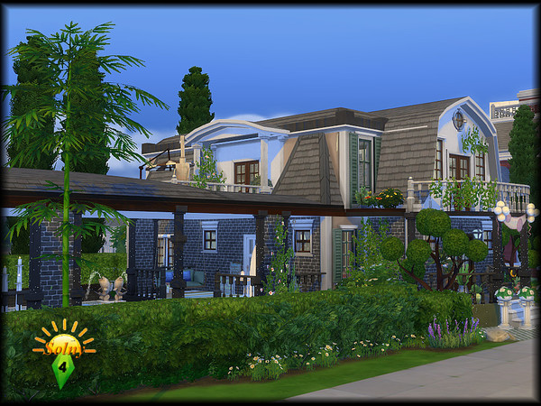 Honeymoon house by Solny at TSR image 5017 Sims 4 Updates
