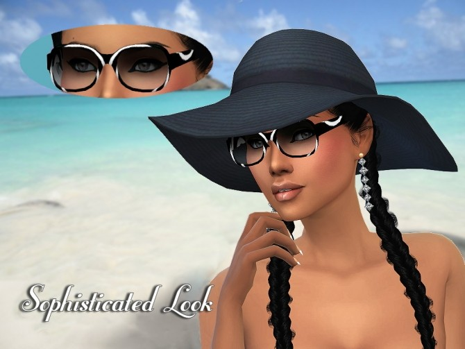 MP Trendy Glasses at BTB Sims – MartyP image 504 670x503 Sims 4 Updates