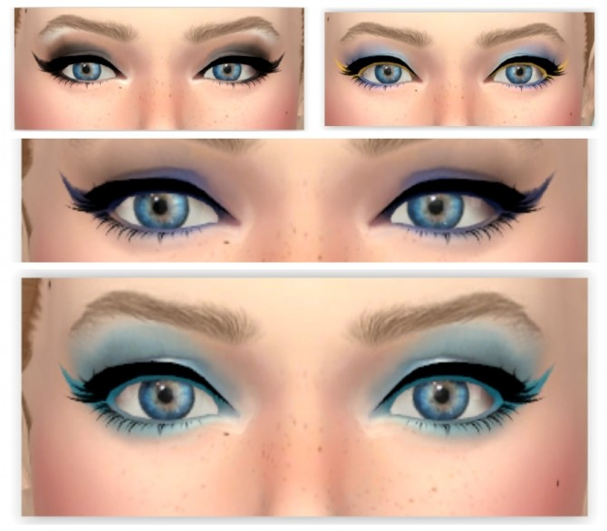 Sims 4 Long Eyeliner by Annabellee25 at SimsWorkshop