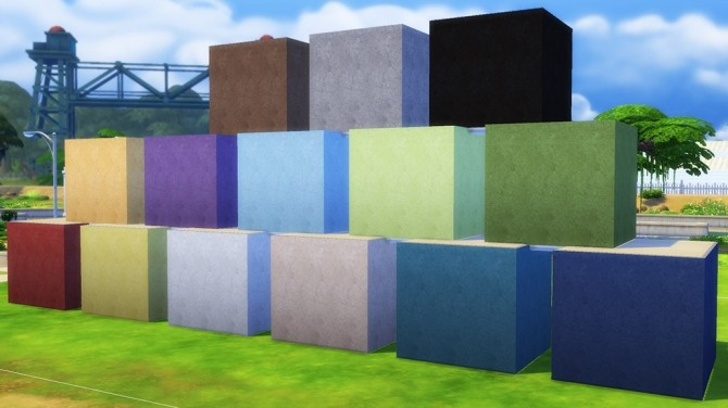 Plaster Wall Set 14 colours by The Builder at Mod The Sims image 5110 670x376 Sims 4 Updates