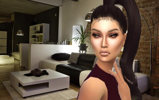 Sims 4 Eyeliner 100 by MAC at SimsWorkshop
