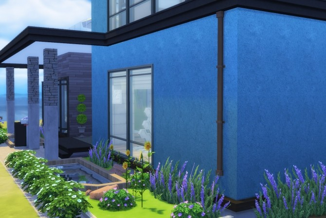 Sims 4 Plaster Wall Set 14 colours by The Builder at Mod The Sims