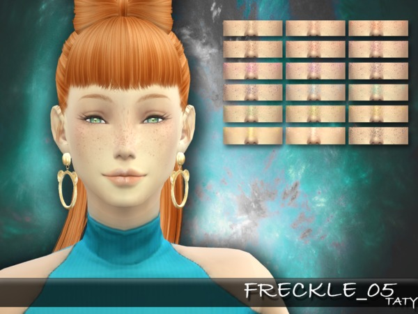 Sims 4 Taty Freckle 05 by tatygagg at TSR