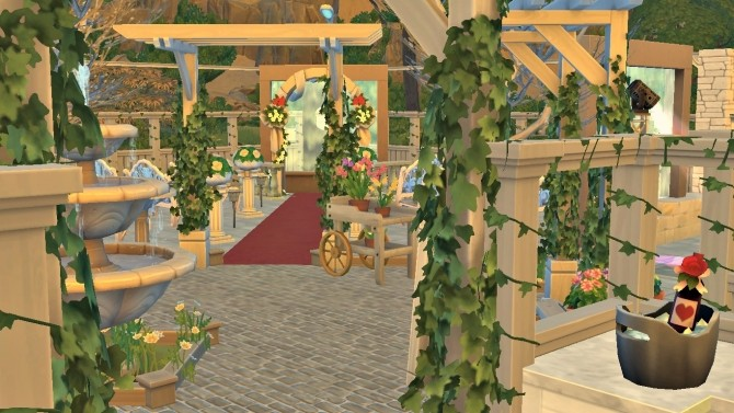 Sims 4 Salle de Mariage (Wedding Venue) by Jess.15 at Mod The Sims