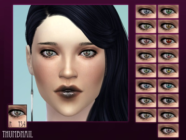 Shiny shiny eyes by RemusSirion at TSR image 5714 Sims 4 Updates
