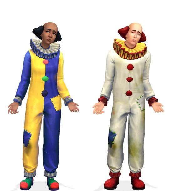 Tragic Clown Unlocked by VentusMatt at Mod The Sims image 5719 Sims 4 Updates
