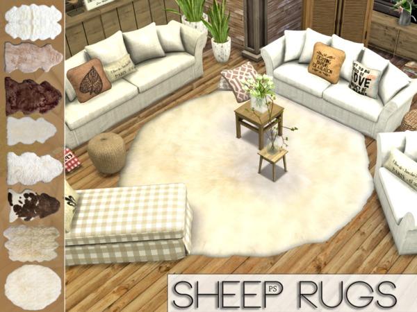 Sims 4 Fluffy Rug