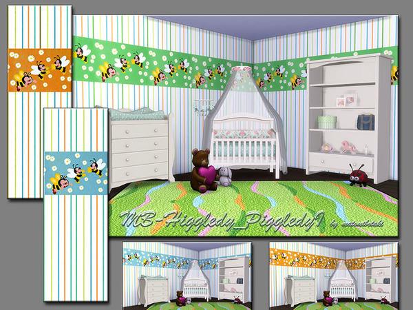 MB Higgledy Piggledy I wallpaper by matomibotaki at TSR image 5811 Sims 4 Updates