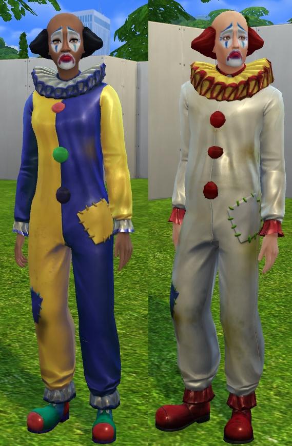 Tragic Clown Unlocked by VentusMatt at Mod The Sims image 5818 Sims 4 Updates