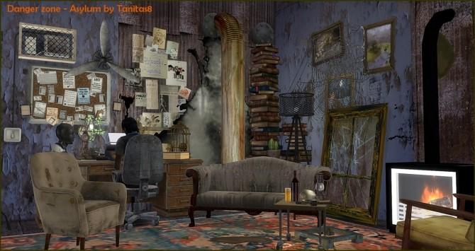 Sims 4 Asylum Danger zone at Tanitas8 Sims