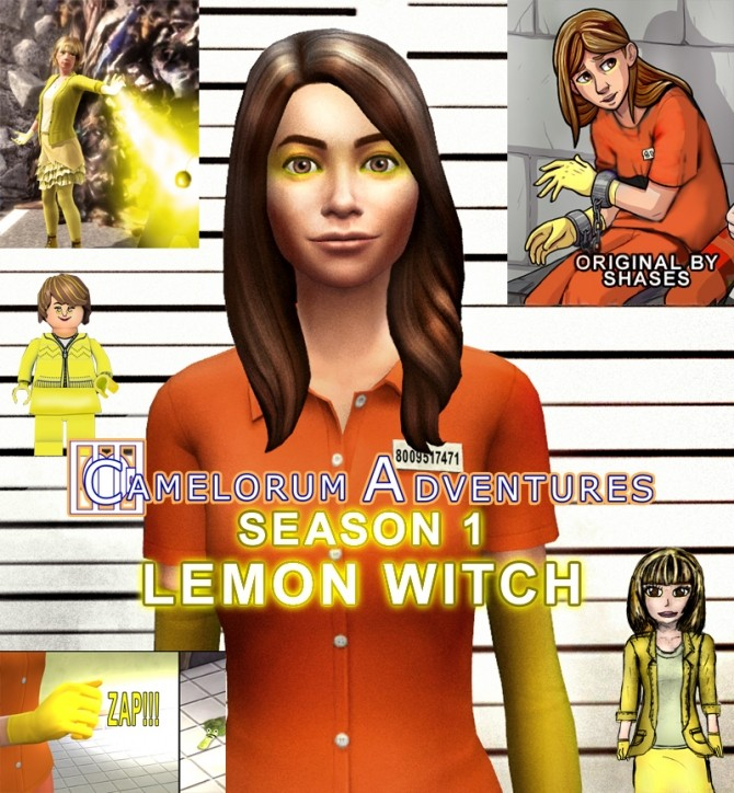 Sims 4 Lemon Witch by BulldozerIvan at Mod The Sims