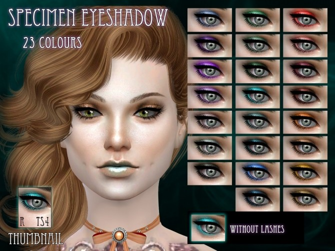 Specimen Eyeshadow by RemusSirion at Mod The Sims image 5919 670x503 Sims 4 Updates