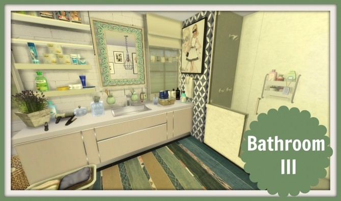 Bathroom iii at dinha gamer sims 4 updates for The sims 3 bathroom ideas