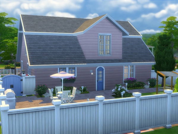 Sims 4 The Mansfield house by sharon337 at TSR
