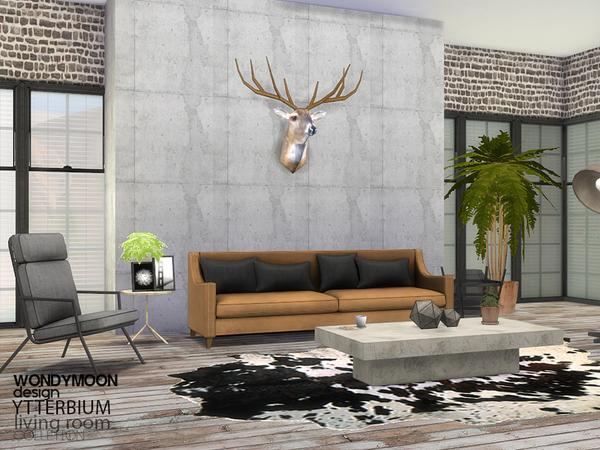 Ytterbium livingroom by wondymoon at TSR image 6 Sims 4 Updates