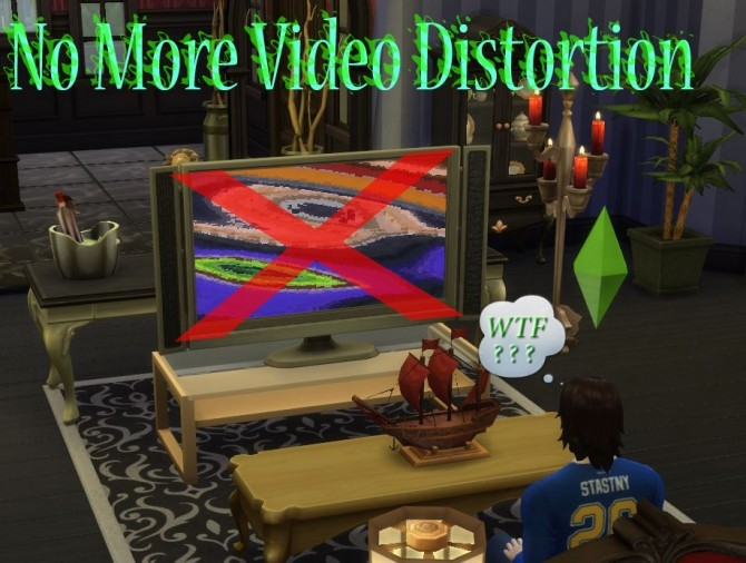 No More Video Distortion by scumbumbo at Mod The Sims image 6010 670x506 Sims 4 Updates