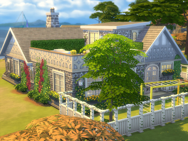 Sims 4 The Stratford house by sharon337 at TSR
