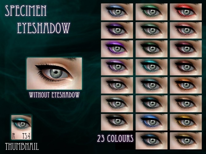 Specimen Eyeshadow by RemusSirion at Mod The Sims image 6124 670x503 Sims 4 Updates