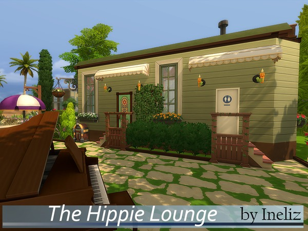 Sims 4 The Hippie Lounge by Ineliz at TSR