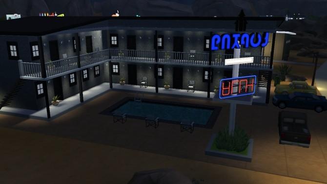 Sims 4 Ellora Motel by Niharika.Basu at Mod The Sims