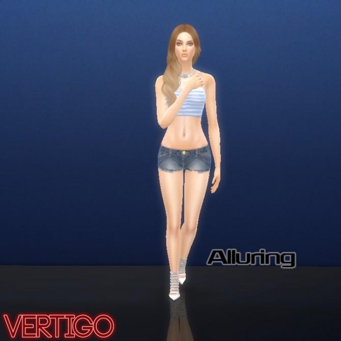 More Modeling Poses By Vertigo At Simsworkshop 187 Sims 4