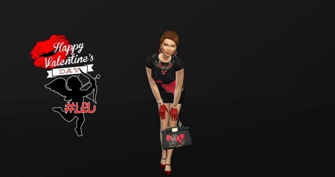 Sims 4 Valentines dress at La Boutique de Jean