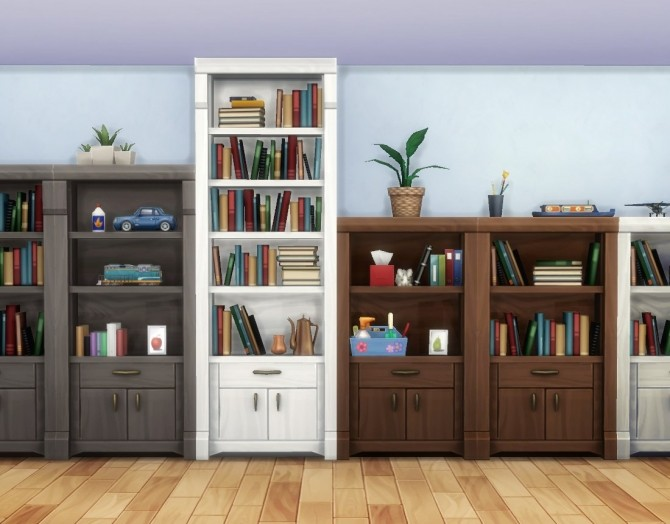 Muse Shelf Add Ons by plasticbox at Mod The Sims image 6912 670x524 Sims 4 Updates