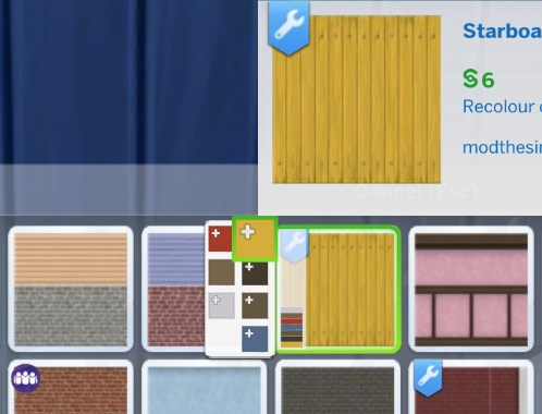 Sims 4 CC Wrench Icon Override by plasticbox at Mod The Sims