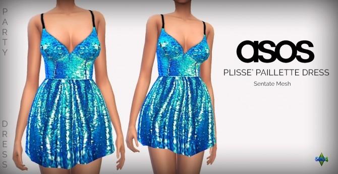 Sims 4 Party Dresses at Rimshard Shop