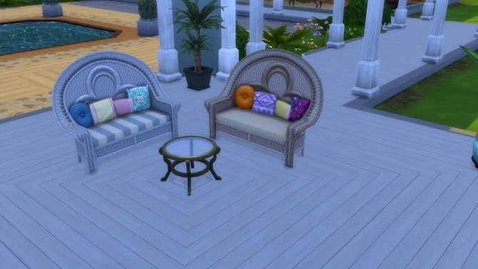Island Loving Love Seat 20 Recolors by blueshreveport at Mod The Sims image 719 670x377 Sims 4 Updates