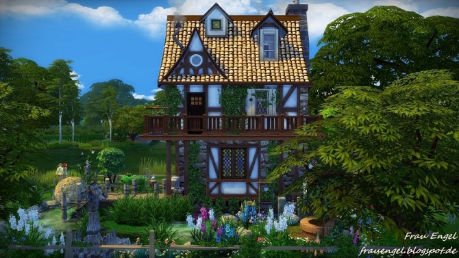 Build A BMW >> Witch House at Frau Engel » Sims 4 Updates