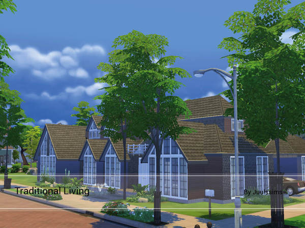 Traditional Living home by Juulssims at TSR image 723 Sims 4 Updates