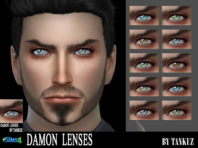 Sims 4 Damon Lenses at Tankuz Sims4