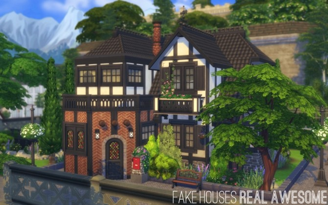 Sherburne Square house by FakeHouses RealAwesome at Mod The Sims image 7413 670x419 Sims 4 Updates