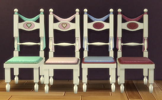 2 to 4 Thrones of Passion Chair Beta by BigUglyHag at SimsWorkshop image 749 Sims 4 Updates