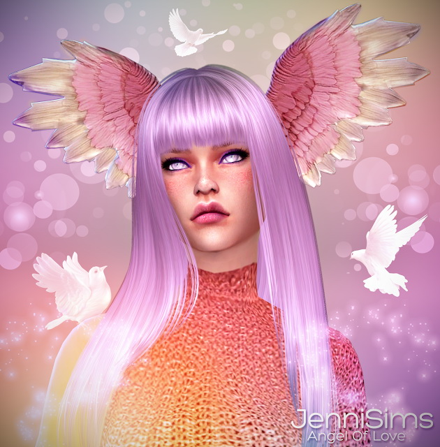 Angel Of Love Wings Head At Jenni Sims 187 Sims 4 Updates