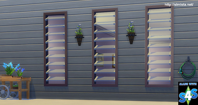 Louver Lover Window at Simista image 7612 Sims 4 Updates