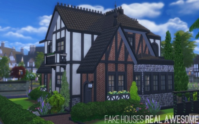 Sherburne Square house by FakeHouses RealAwesome at Mod The Sims image 7613 670x419 Sims 4 Updates
