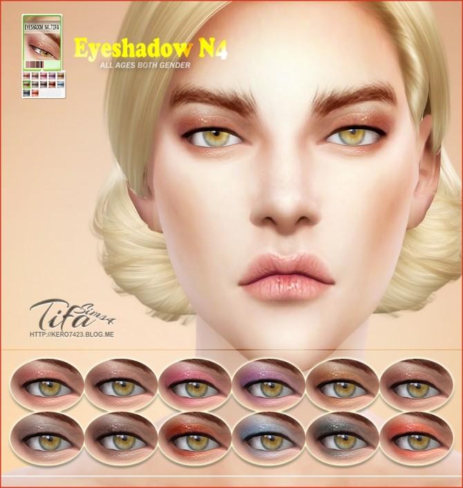 Sims 4 Eyeshadow N4 at Tifa Sims