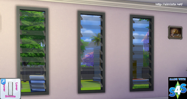 Louver Lover Window at Simista image 7712 Sims 4 Updates