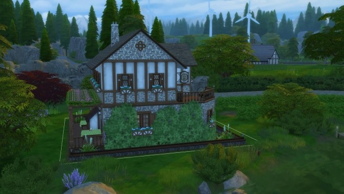 Sims 4 Old Mill Pub. by Mykuska at Mod The Sims
