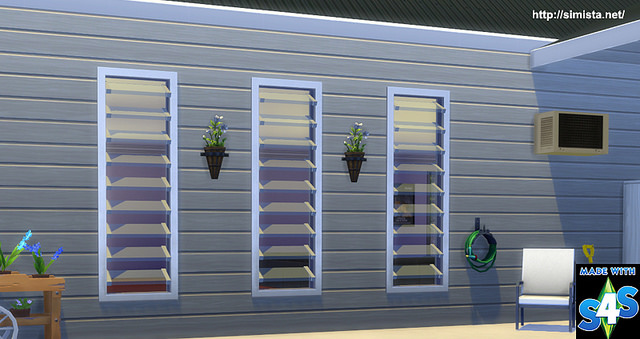 Louver Lover Window at Simista image 7812 Sims 4 Updates