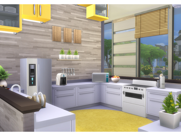 Modern Sunshine house by lenabubbles82 at TSR image 7818 Sims 4 Updates