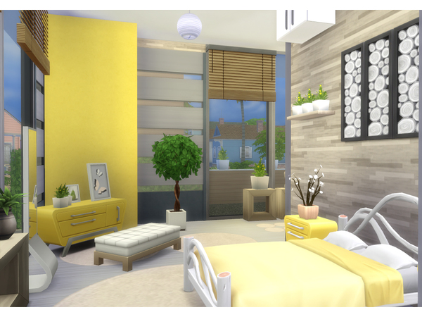 Modern Sunshine house by lenabubbles82 at TSR image 8018 Sims 4 Updates