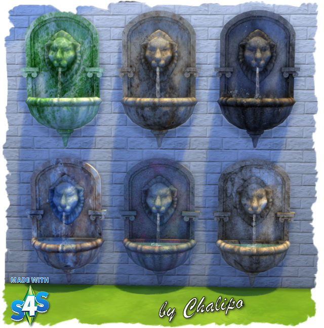Lion fountain by Chalipo at All 4 Sims image 8114 Sims 4 Updates