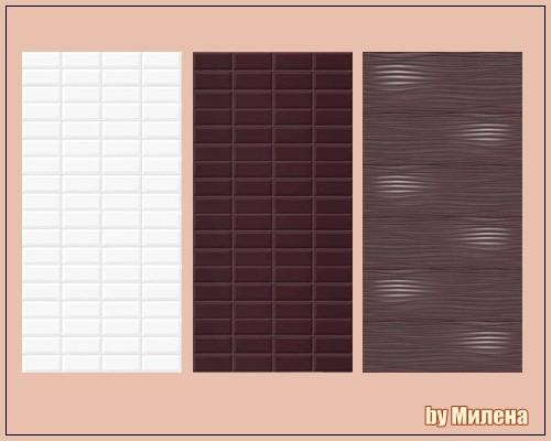 Sims 4 GALAXY ceramic tiles at Sims by Mulena