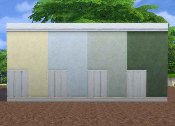 White Paneling + Paint Walls by plasticbox at Mod The Sims image 8318 670x484 Sims 4 Updates