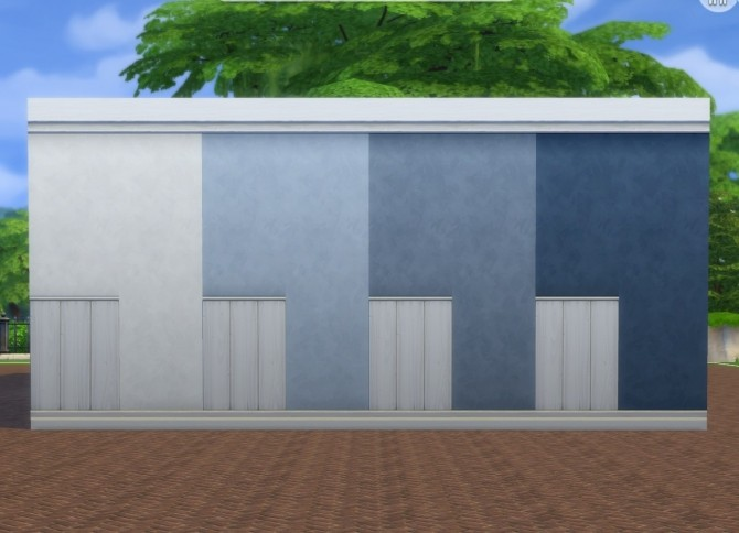 White Paneling + Paint Walls by plasticbox at Mod The Sims image 8418 670x484 Sims 4 Updates