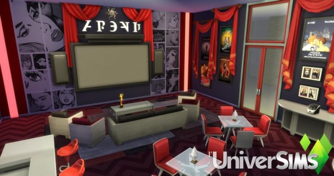 Red Carpet Home Theater Salon By Olideg At L Universims